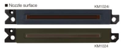 Внешний вид печатной головы Konica Minolta KM1024i
