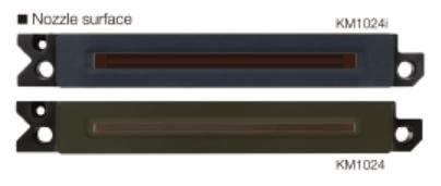 Внешний вид печатной головы Konica Minolta KM1024i MHE