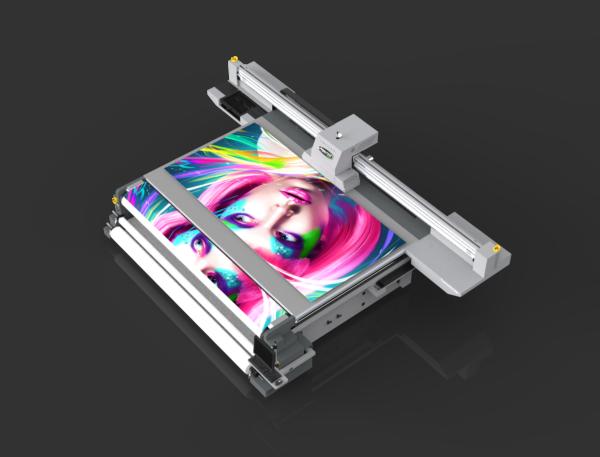 Планшетный УФ-принтер с рулонной опцией Sprinter FR3221