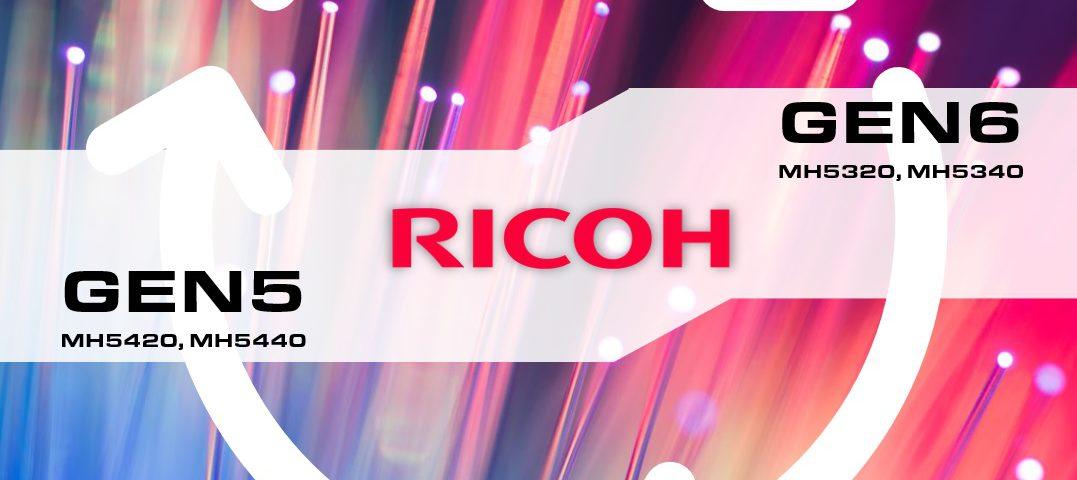 Печатные головы RICOH GEN6